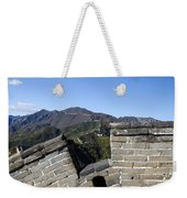 Merlon View From The Great Wall 726 Weekender Tote Bag