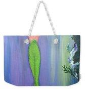 Mermaid And Treasure Chest  Weekender Tote Bag