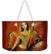 Mermaid Bride Weekender Tote Bag