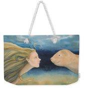 Mermaid Encounter Weekender Tote Bag