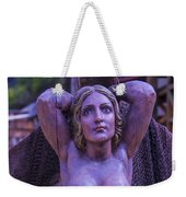 Mermaid Figure Head Weekender Tote Bag