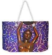 Mermaid In Cancun Weekender Tote Bag by Halifax travel photos by John Malone