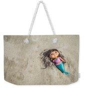 Mermaid In The Sand Weekender Tote Bag