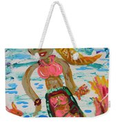 Mermaid Mermaid Weekender Tote Bag