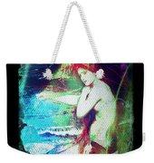 Mermaid Of The Tides Weekender Tote Bag
