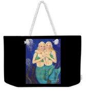 Mermaid Sisters Jelly Fish Cathy Peek Art Weekender Tote Bag