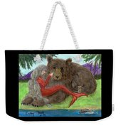 Mermaids Bear Cathy Peek Fantasy Art Weekender Tote Bag