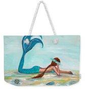 Mermaids Exist Weekender Tote Bag