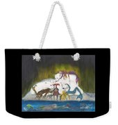Mermaids Polar Bears Cathy Peek Fantasy Art Weekender Tote Bag