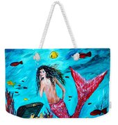 Mermaids Treasure Weekender Tote Bag