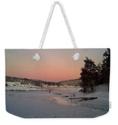 A Christmas Card From The Wintry Sea  Weekender Tote Bag
