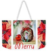 Merry Christmas From An Angel Weekender Tote Bag