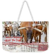 Merry Christmas From The Trail Weekender Tote Bag