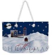 Merry Christmas Weekender Tote Bag by Susan Candelario