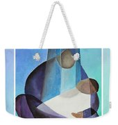 Merry Christmas Virgin Mary And Child  Weekender Tote Bag