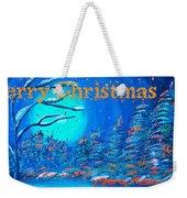 Merry Christmas Wish V3 Weekender Tote Bag