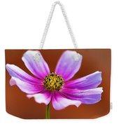 Merry Cosmos Floral Weekender Tote Bag