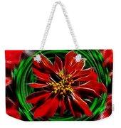 Merry Xtmas - Poinsettia Weekender Tote Bag