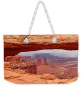 Mesa Arch In Canyonlands National Park Weekender Tote Bag