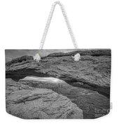 Mesa Arch Sunrise Bw Weekender Tote Bag