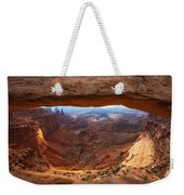 Mesa Sunrise Window Weekender Tote Bag