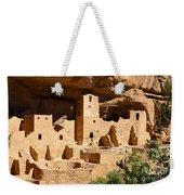 Mesa Verde National Park Cliff Palace Pueblo Anasazi Ruins Weekender Tote Bag