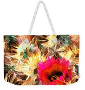 Mesh Of Cactus Needles Weekender Tote Bag