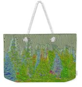 Meshed Tree Abstract Weekender Tote Bag by Liane Wright