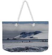 Mesmerizing Antarctica... Weekender Tote Bag