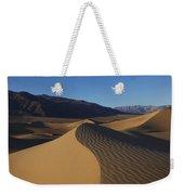 Mesquite Dunes Death Valley 1 Weekender Tote Bag