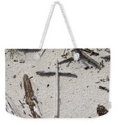 Message In The Sand Weekender Tote Bag by Benanne Stiens