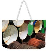 Metal Barrels 1 Weekender Tote Bag