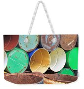 Metal Barrels 2 Weekender Tote Bag