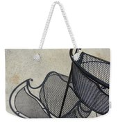 Metal Chair And Shadow 5 Weekender Tote Bag