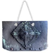 Metal Door Weekender Tote Bag