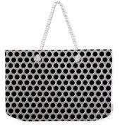 Metal Grill Dot Pattern Weekender Tote Bag