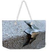 Metal Leaf Weekender Tote Bag