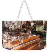 Metal Machine Shop Weekender Tote Bag
