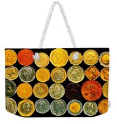 Metal Profiles Weekender Tote Bag by Benjamin Yeager