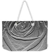 Metal Rose Weekender Tote Bag