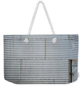 Metal Silo With Door Weekender Tote Bag