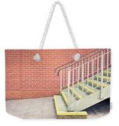 Metal Stairs Weekender Tote Bag