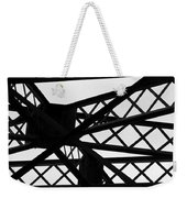 Metal Structure Weekender Tote Bag