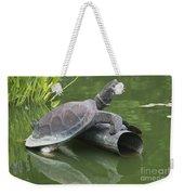Metal Turtle Weekender Tote Bag