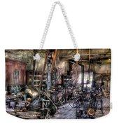 Metal Worker - Belts And Pullies Weekender Tote Bag