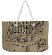 Metal Working Machine Patent Weekender Tote Bag