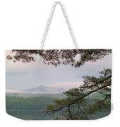 Metalliak Mountain Beyond Richardson Weekender Tote Bag