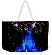 Metallic Castle Weekender Tote Bag