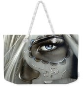 Metallic Decay Weekender Tote Bag