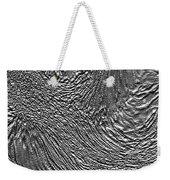 Ice - Metallic Ice Weekender Tote Bag